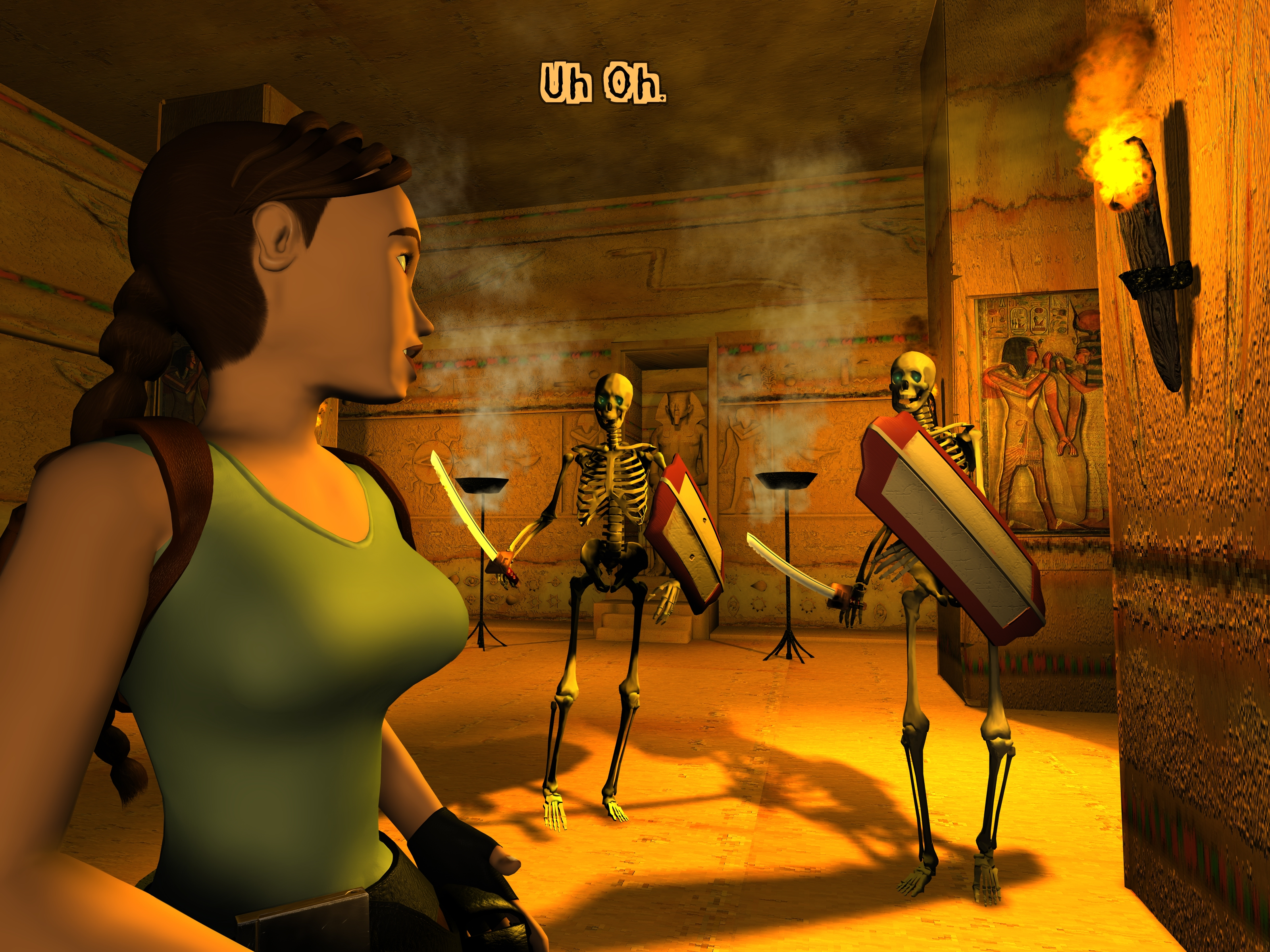Tomb Raider The Last Revelation 1999 Picture Gallery Section